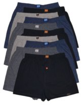 10 Boxershorts in 4 klassischen Grundfarben - locker und weiche Unterhose Short Boxer (XXXXL-10, Klassisch) -