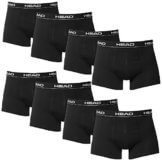 HEAD Men Boxershort 841001001-200 Basic Boxer 8er Pack black Size L -