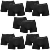 PUMA Herren BASIC Boxer Boxershort Unterhose 10er Pack black / black 230 - L -
