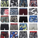 "Jack Jones Boxershorts 4er Pack MIX "" Trunks Boxer Short Unterhose S,M,L,XL,XXL (M) -"